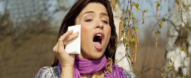 Allergie an den Augen